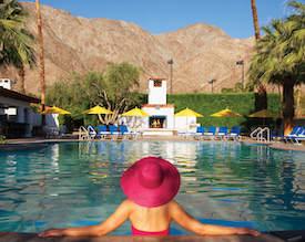La Quinta Resort Main Pool with Pink Ha