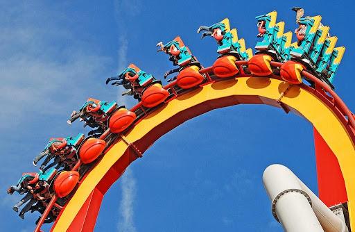 A ride at a California Amusement Parks