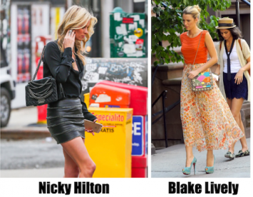 celebrities wearing fashion trends from 2021