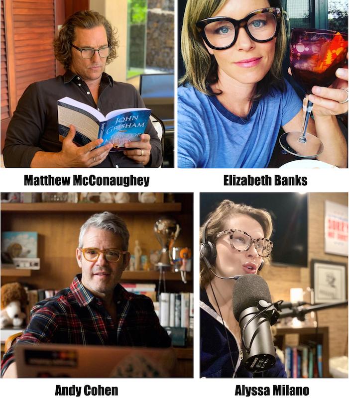 celebrities in Peepers eyewear