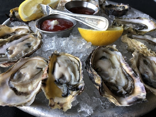 A plate of oyster