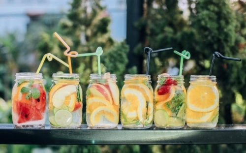 6 Fruit Juices glasses for Healthy Lifestyle