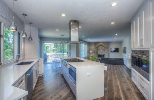 designed kitchen for more cabinets for storage in your home